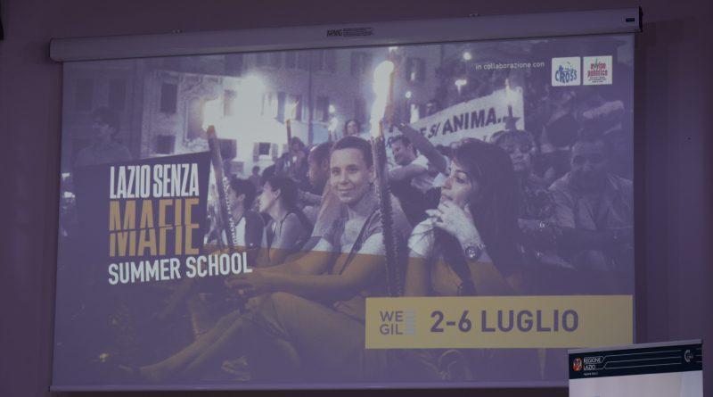 Summer School Lazio senza mafie